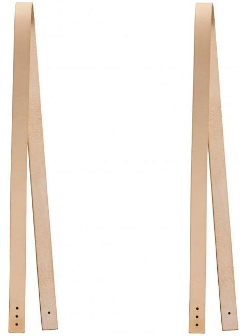 Oliver Furniture Lederriemen für Sitzkissen Wood 2 Stück - Kleine Fabriek