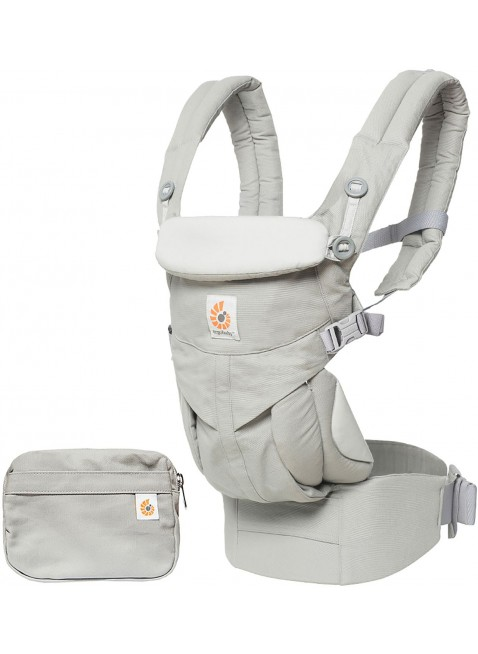Ergobaby Babytrage Omni 360 Pearl Grey - Kleine Fabriek