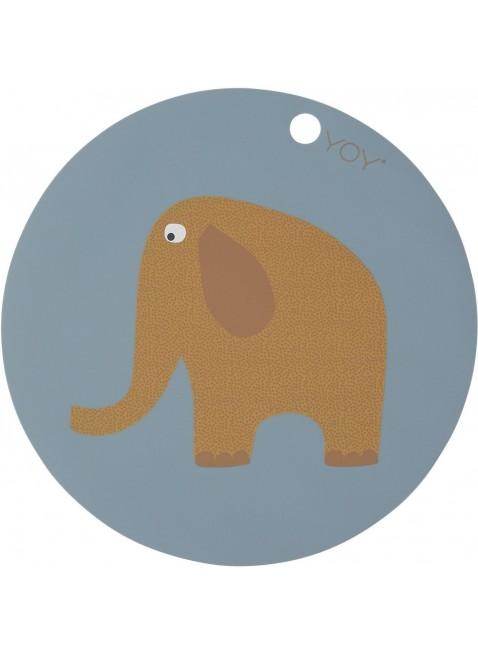 Kinder Tisch-Set Elefant von OYOY kaufen - Kleine Fabriek