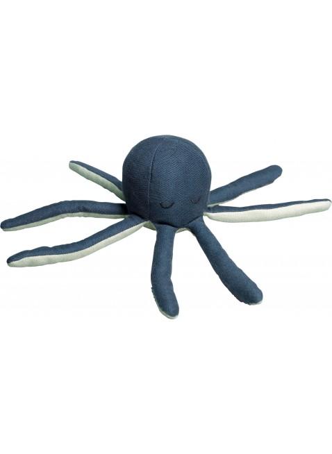 Rassel Fabelab Octopus Blue Spruce - Kleine Fabriek