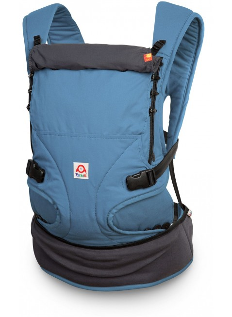 Ruckeli Babytrage Basic Blue & Grey - Kleine Fabriek