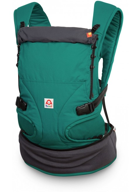 Ruckeli Babytrage Basic Regular Quetzal Green - Kleine Fabriek