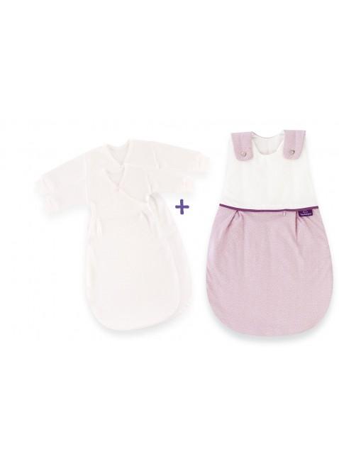 Träumeland Ganzjahresschlafsack Punkte Rosa kaufen - Kleine Fabriek