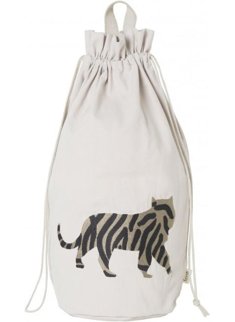 Ferm Living Spielzeugbeutel Safari Tiger kaufen - Kleine Fabriek