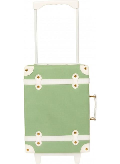 Olli Ella Kinder-Koffer im grünen Vintage-Look kaufen - Kleine Fabriek