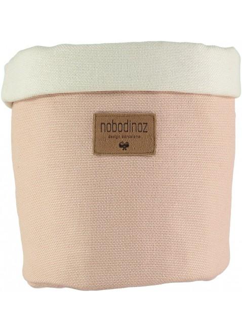 Nobodinoz Stoffkorb Tango Medium in Bloom Pink kaufen - Kleine Fabriek