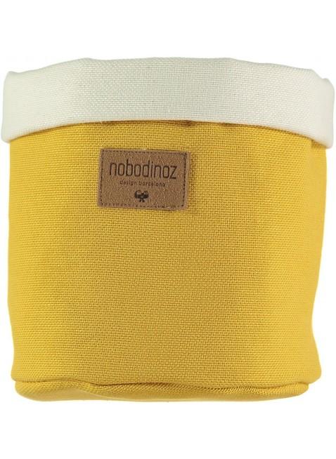 Nobodinoz Stoffkorb Tango Small in Farniente Gelb kaufen - Kleine Fabriek