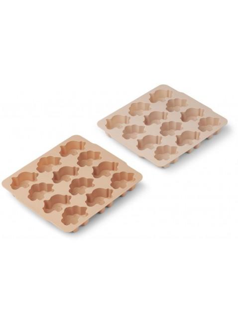 Liewood Silikon Eiswürfelform Dino Rose kaufen - Kleine Fabriek
