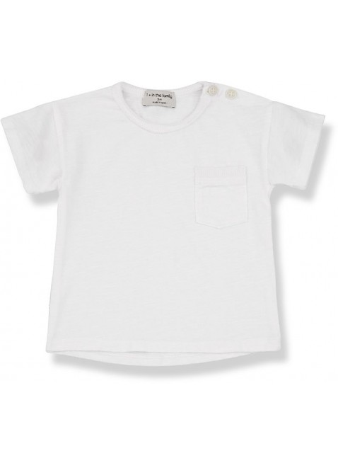 1+ in the family Baby-Shirt Kurzarm Vico Off-White
