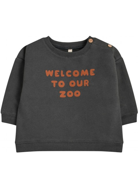 Organic Zoo Baby-Shirt Welcome To Our Zoo kaufen - Kleine Fabriek