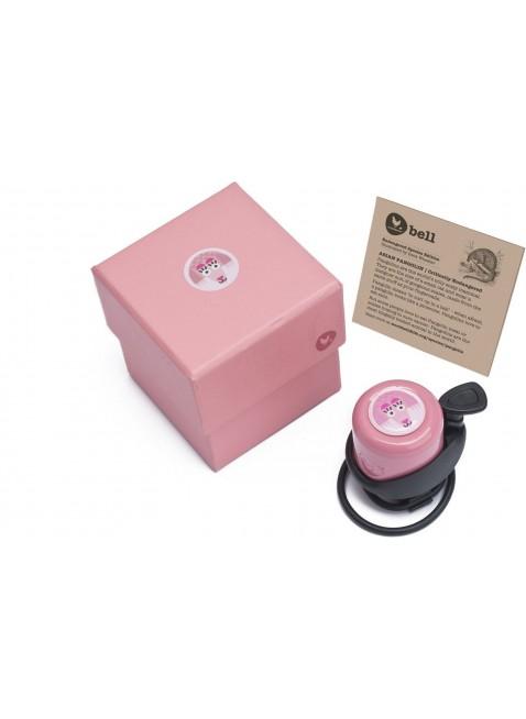 Wishbone Laufradklingel Fahrradklingel Gürteltier Rosa - Kleine Fabriek