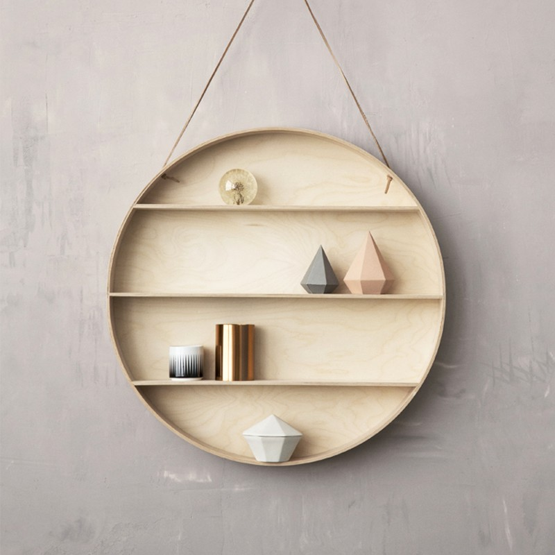 kinderzimmer regal round dorm ferm living kleine fabriek. Black Bedroom Furniture Sets. Home Design Ideas