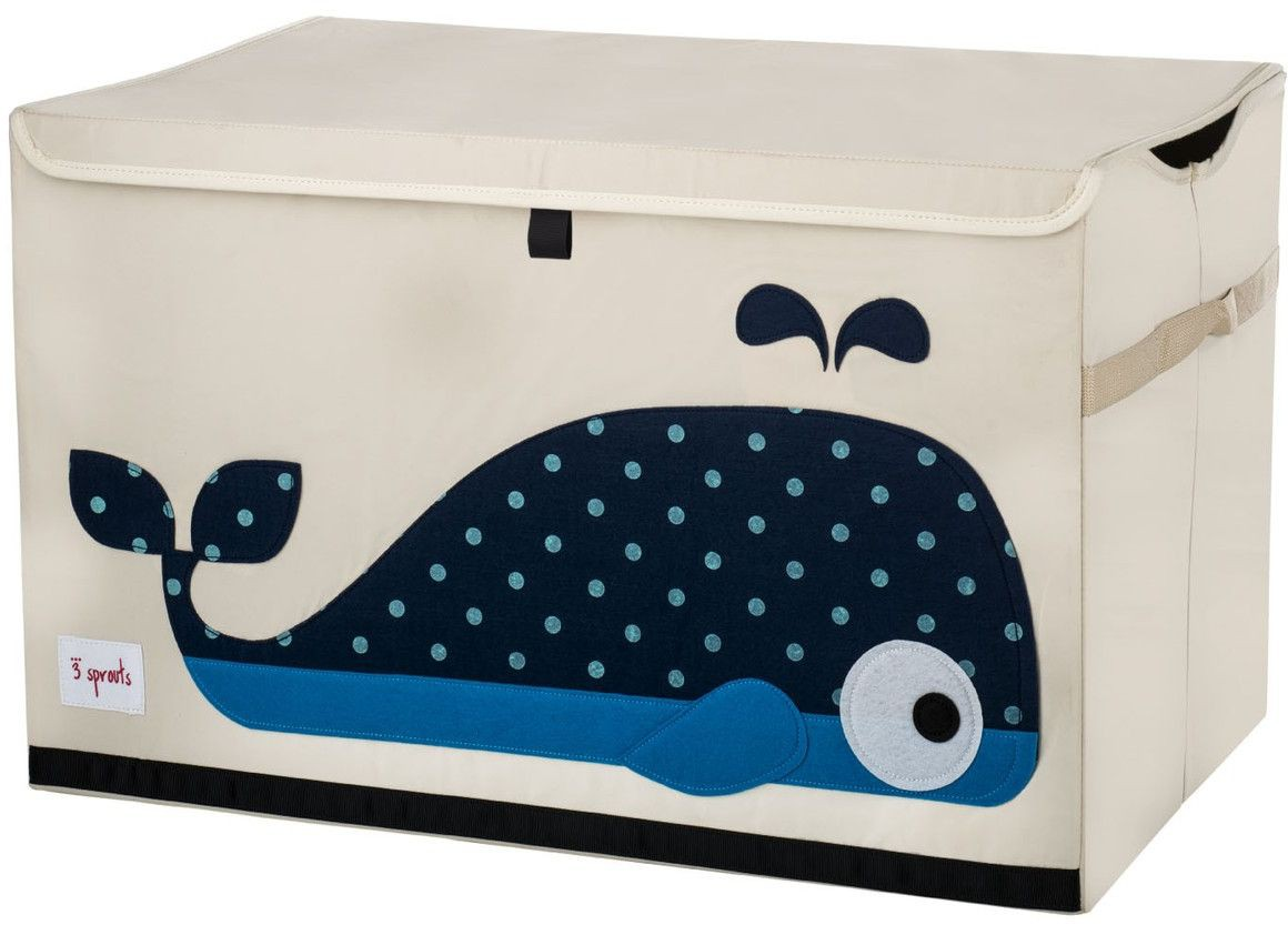 3 sprouts spielzeug kiste wal. Black Bedroom Furniture Sets. Home Design Ideas