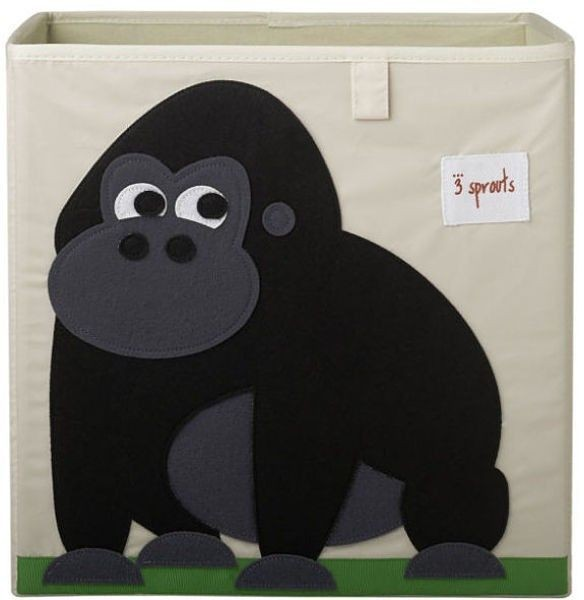 aufbewahrungsbox gorilla 3 sprouts kleine fabriek. Black Bedroom Furniture Sets. Home Design Ideas