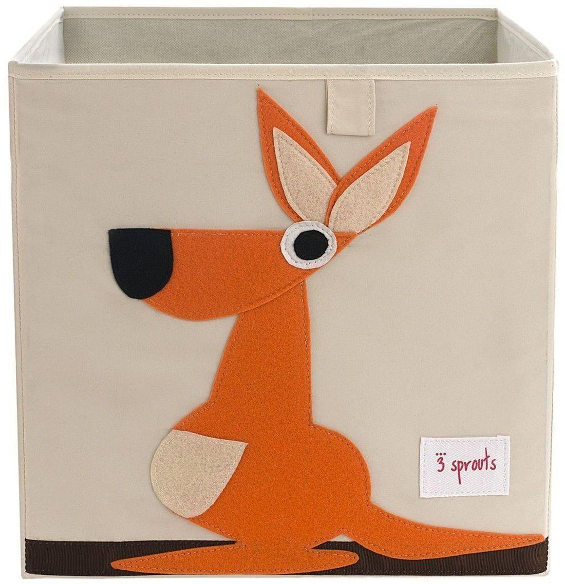Aufbewahrungsbox k nguru 3 sprouts kleine fabriek for Kinderzimmer aufbewahrungsbox