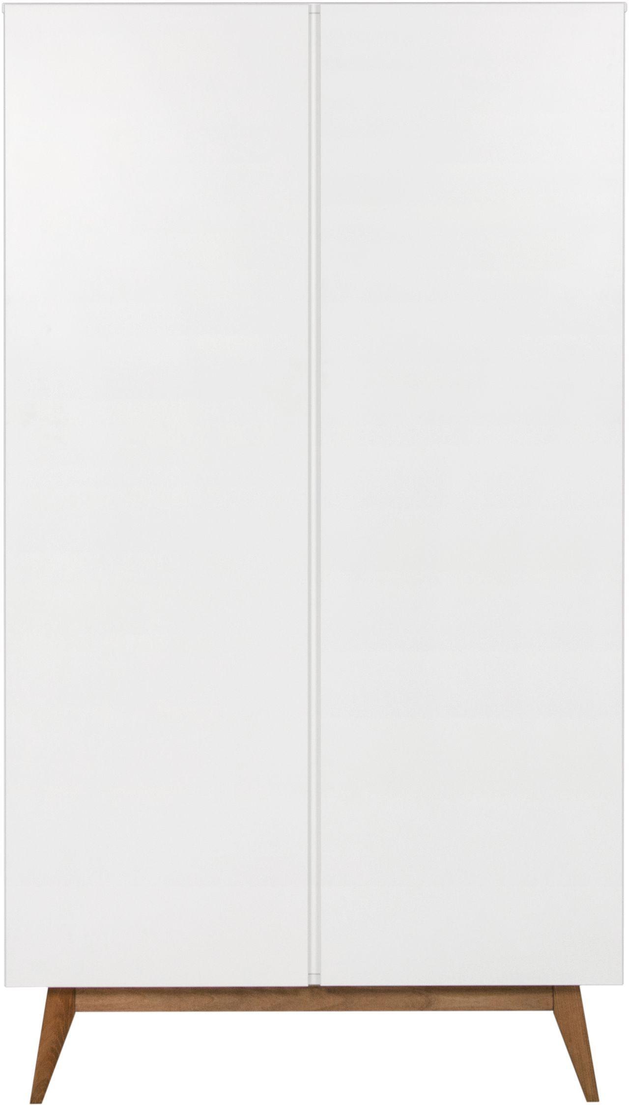 Quax Kleiderschrank 2 Türig Trendy Weiß