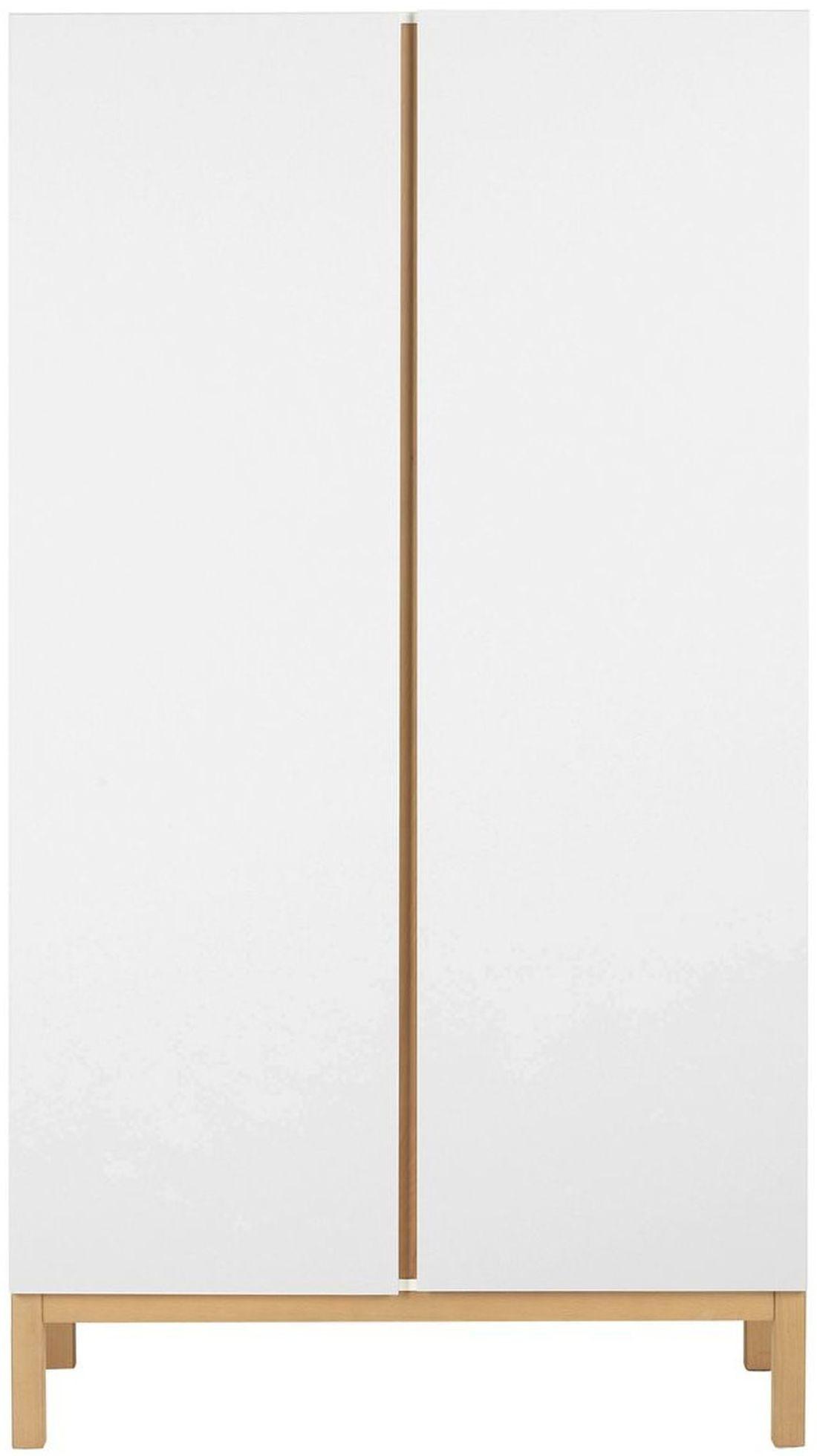 Quax Kleiderschrank 2 Türig Indigo Weiß