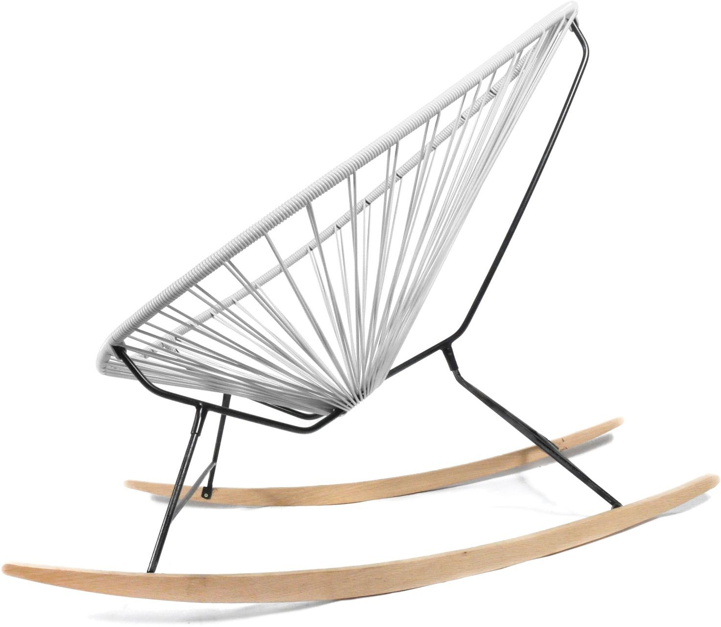 Acapulco chair wood rocker design schaukelstuhl boqa for Schaukelstuhl zum stillen