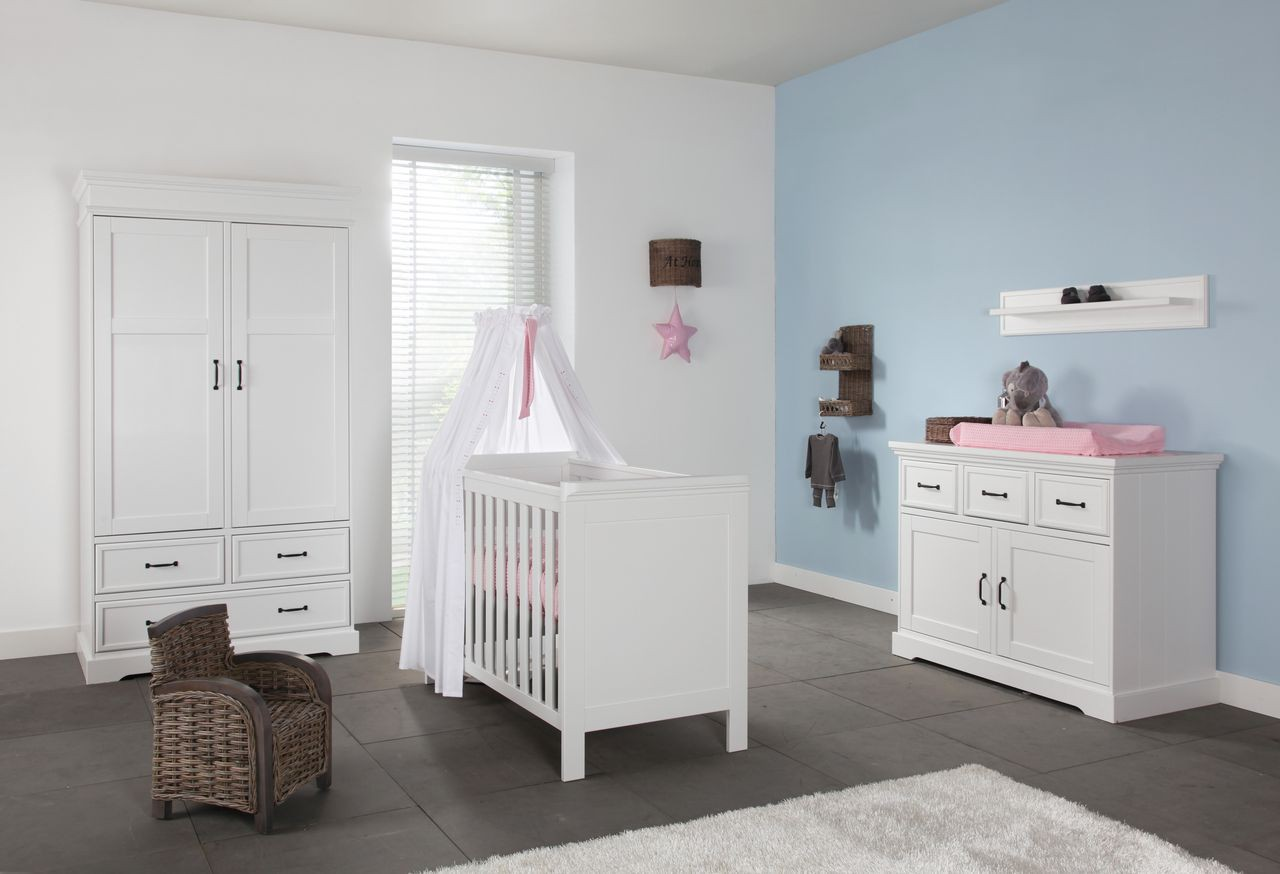 kidsmill babybett savona ohne kreuz 60x120 cm wei babybetten kinderzimmerm bel kinderzimmer. Black Bedroom Furniture Sets. Home Design Ideas