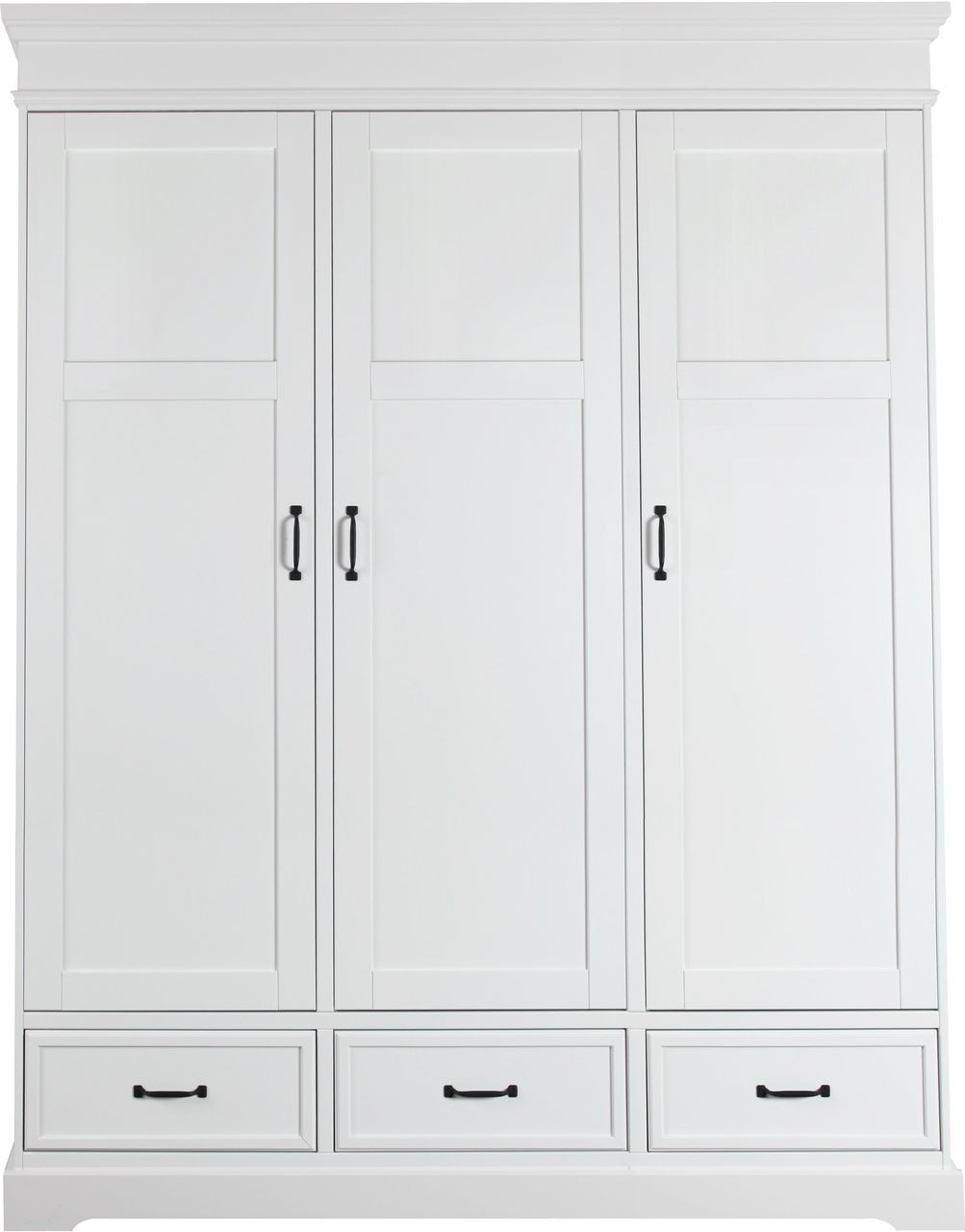 kidsmill kleiderschrank 3 t rig savona ohne kreuz wei kidsmill savona kidsmill. Black Bedroom Furniture Sets. Home Design Ideas