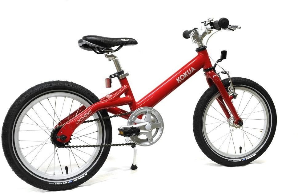kokua liketobike kinderfahrrad 16 zoll r cktritt rot. Black Bedroom Furniture Sets. Home Design Ideas