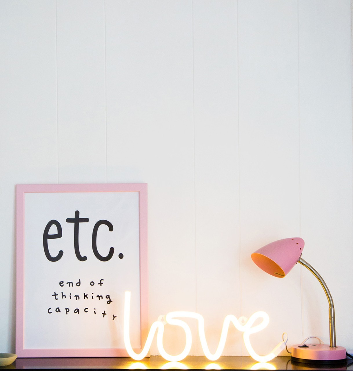 lampe neon style light love a little lovely company kleine fabriek. Black Bedroom Furniture Sets. Home Design Ideas