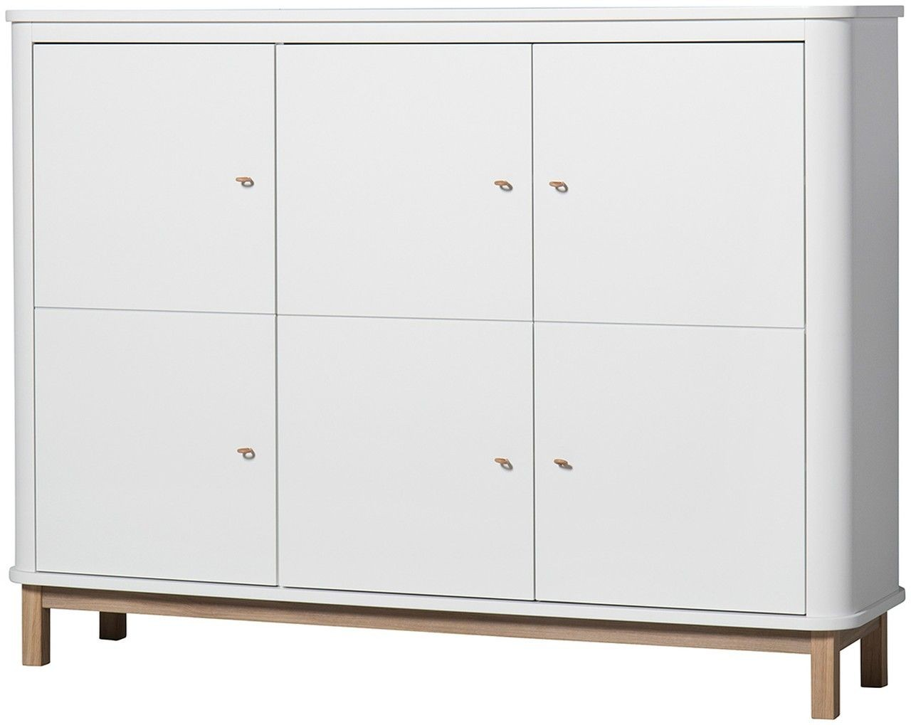 Multi-Schrank Wood Oliver Furniture - Kleine Fabriek