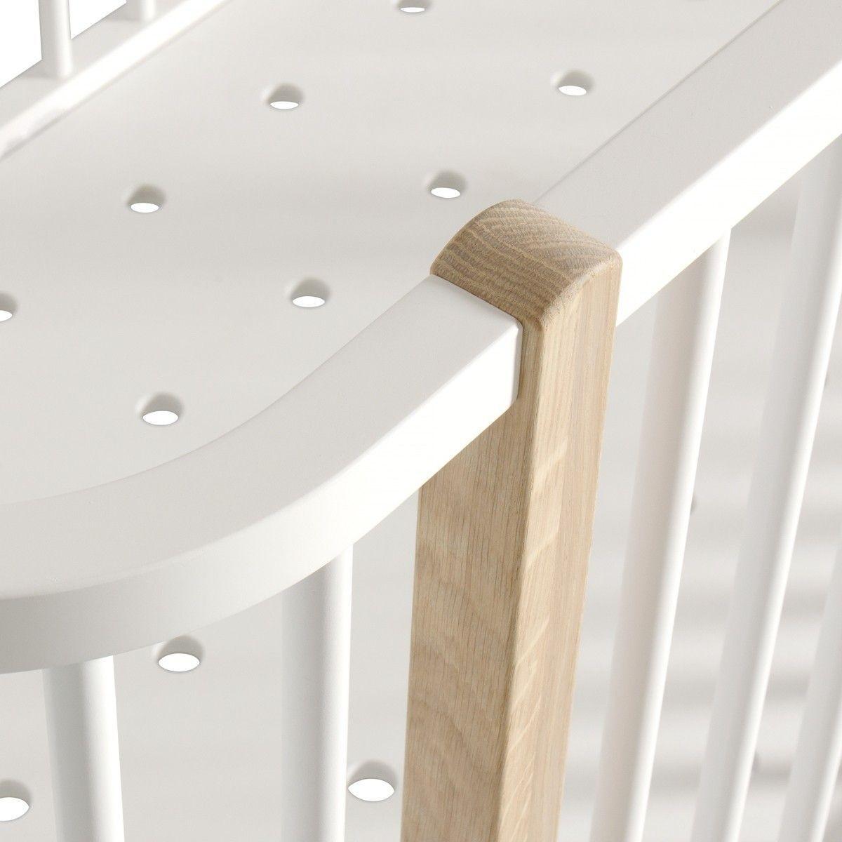 wood babybett umbaubett 70x140 cm oliver furniture. Black Bedroom Furniture Sets. Home Design Ideas