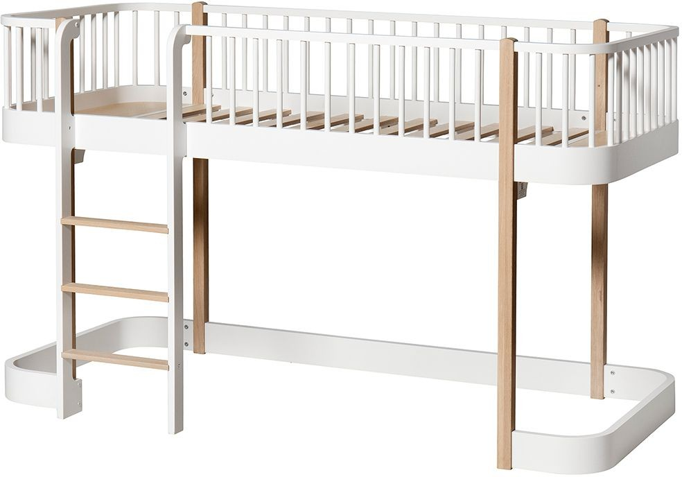 Wood Halbhohes Hochbett Oliver Furniture Kleine Fabriek