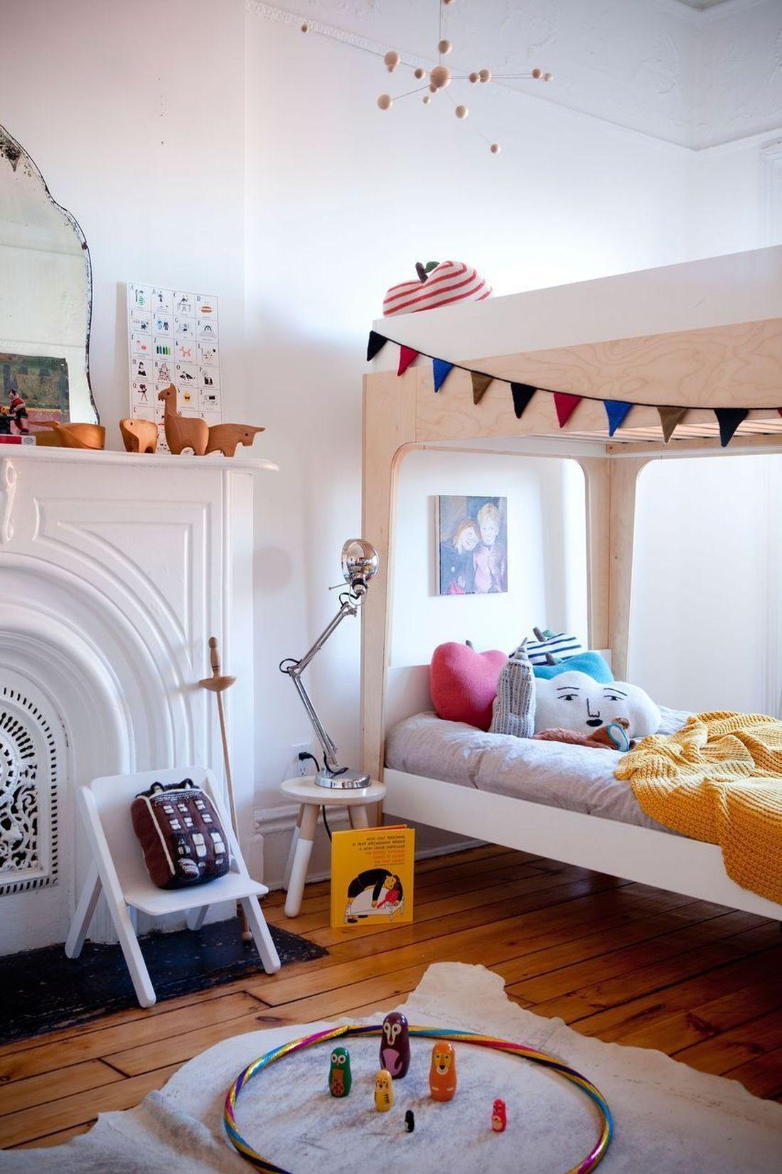 oeuf hochbett etagenbett perch 90x200cm wei birke oeuf komplettzimmer kinderzimmer. Black Bedroom Furniture Sets. Home Design Ideas