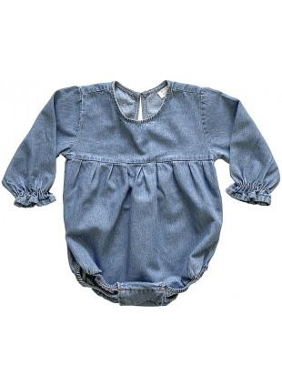 The Simple Folk Baby-Romper Denim