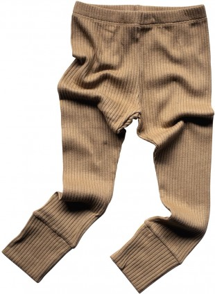 The Simple Folk Baby-Leggings Ribbed Camel
