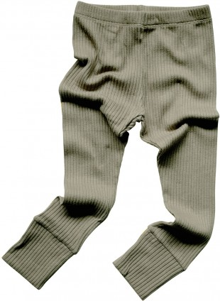 The Simple Folk Baby-Leggings Ribbed Sage