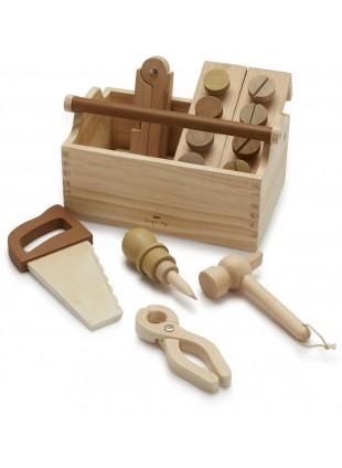 Konges Sløjd Kinder-Werkzeugkoffer kaufen - Kleine Fabriek