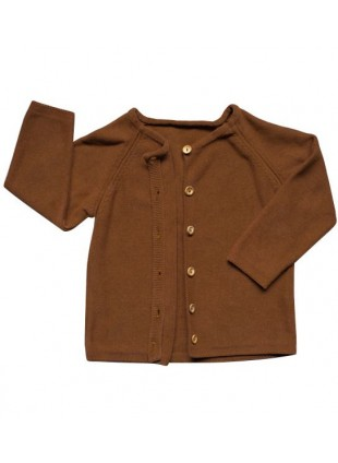 The Simple Folk Baby-Strickjacke Daily Rust