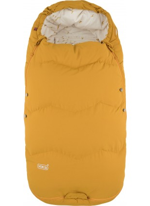 Voksi Explorer Kinderwagen-Fußsack Golden Yellow Flying