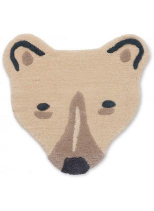Ferm Living Kinderzimmer-Teppich Wandteppich Eisbär