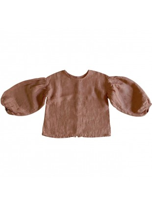 The Simple Folk Baby-Shirt Ballonärmel Cinnamon