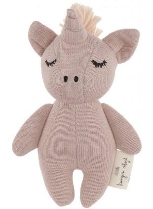 Konges Sløjd Mini Einhorn Babyspielzeug Rose Fawn