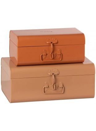 Maileg Aufbewahrungs-Kofferset Powder - Rose kaufen - Kleine Fabriek