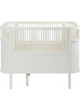 Sebra Babybett / Umbaubett Classic White
