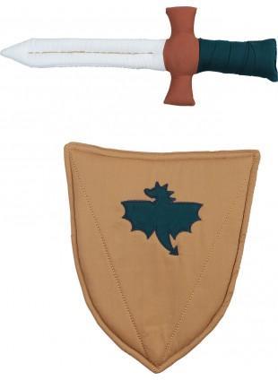 Fabelab Kostüm Schild und Schwert
