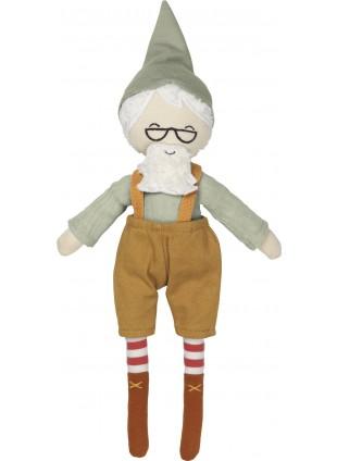 Fabelab Kuscheltier Puppe Elf Großvater