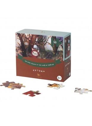 Fabelab Jahreszeiten Puzzle Herbst