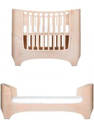 Leander Classic Babybett / Umbaubett Set 0-7 Jahre Whitewash inkl. Matratze
