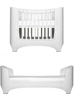 Leander Classic Babybett / Umbaubett Set 0-7 Jahre Weiß inkl. Matratze