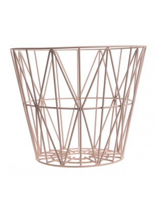 Ferm Living Wire Basket Rose M