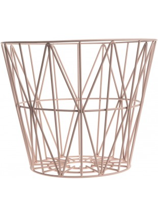 Ferm Living Wire Basket Drahtkorb Rose