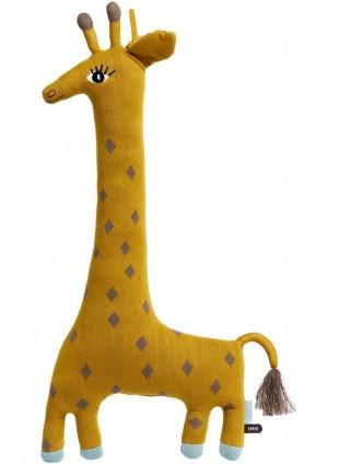 OYOY Kissen Kuscheltier Giraffe Noah