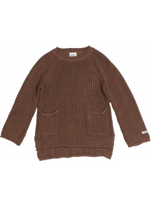 Donsje Baby-Pullover Stella Dark Mocha kaufen - Kleine Fabriek